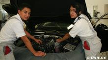Azubis bei Audi Training