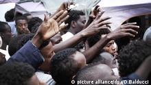 Italy migrants refugees crisis financial issues (picture alliance/dpa/D.Balducci )