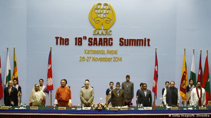 Nepal SAARC Gipfel in Kathmandu 2014