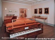 Exposição no museu Beethovenhaus, em Bonn