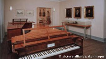 Fortepian młoteczkowy, dzieło wiedeńczyka Conrada Grafa