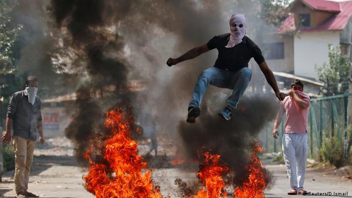 Indien Kashmir Eskalation Gefechte (Reuters/D.Ismail )