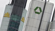 Deutschland Wirtschaft Dresdner Bank übernimmt Commerzbank