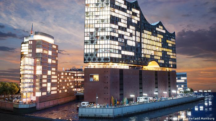 Миниатюрная страна чудес в Гамбурге (Miniatur Wunderland Hamburg)
