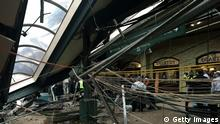 USA Zugunfall in Hoboken Terminal in New Jersey (Getty Images)