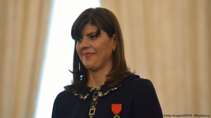 Rumänien DNA Staatsanwältin Laura Codruta Kövesi (Getty Images/AFP/D. Mihailescu)