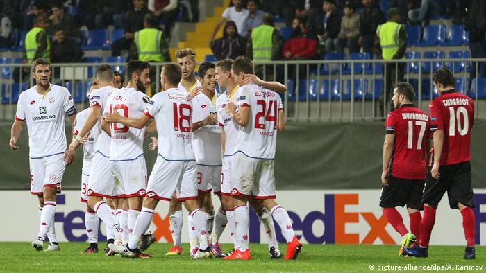 UEFA Europa League Qabala FK vs FSV Mainz 05 (picture-alliance/dpa/A. Karimov)