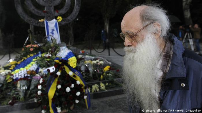Ukraine Gedenken an Massaker von Babi Jar