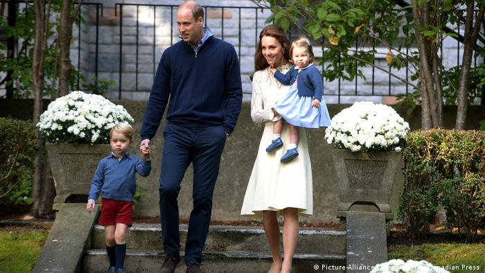 Prinz william und Kate zu Besuch in Kanada (Picture-Alliance/J. Hayward/The Canadian Press )