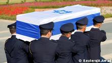 Israel Beisetzung Shimon Peres