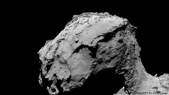Rosetta's letzte Reise (ESA/Rosetta/MPS for OSIRIS Team)