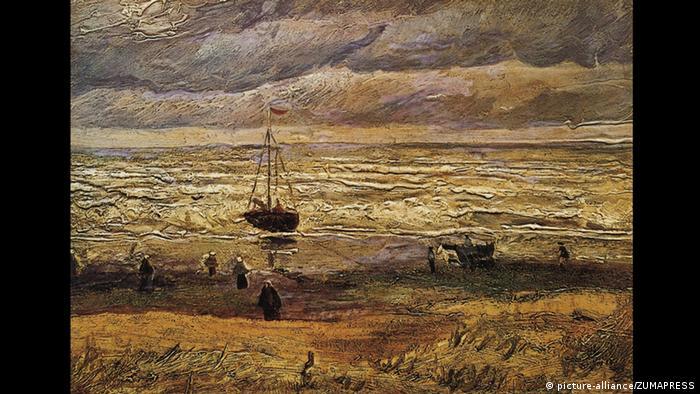 Strand von Scheveningen von Vincent Van Gogh (picture-alliance/ZUMAPRESS)