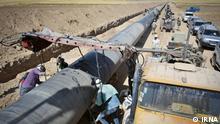 Titel: Gas Pipelines Bildbeschreibung: Gas Pipelines Iran nach Irak wird weiter gebaut. Stichwörter: Iran, KW39, Gas, Gas Pipelines Quelle: IRNA Lizenz: Frei