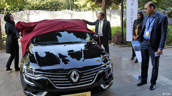 France carmaker Renault is staying in Iran for the time being (ILNA)