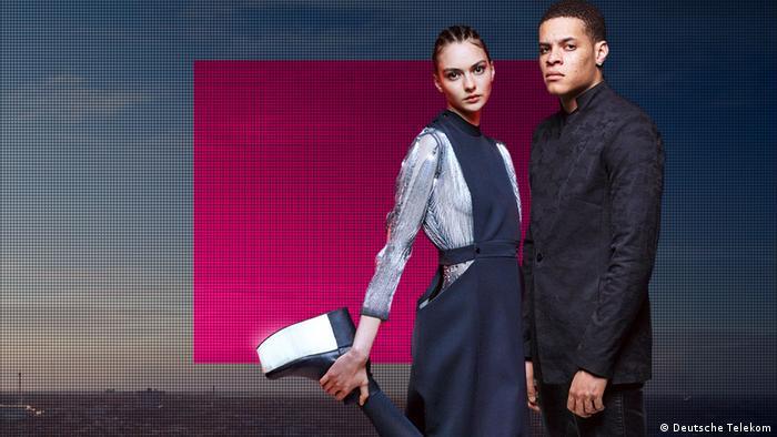 Fashion Fusion by Deutsche Telekom Clara Daguin und William Fan (Deutsche Telekom)