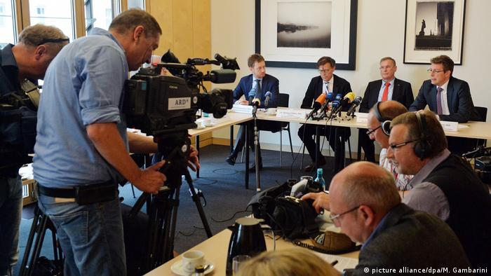 Deutschland PK CDU Sachsen und CSU zu Leit- und Rahmenkultur