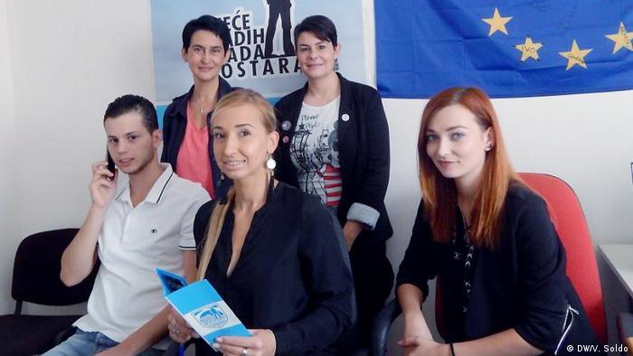Bosnien und Herzegowina Alternative Kommunalwahlen in Mostar (DW/V. Soldo)
