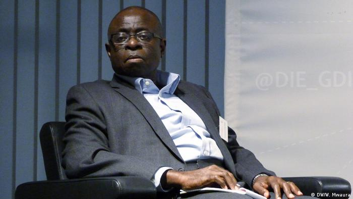 Emanuel Gyimah-Boadi during a panel discussion - File picture (DW/W. Mwaura)