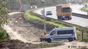 Frankreich Kontroverse um Grenzanlage in Calais