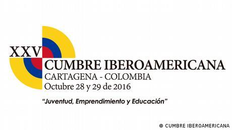 Logo de la XXV Cumbre Iberoamericana, 2016.