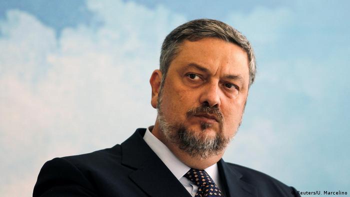 Brasilien Politiker Antonio Palocci (Reuters/U. Marcelino)