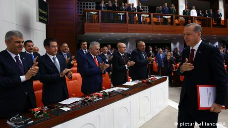 Parlamento turco.