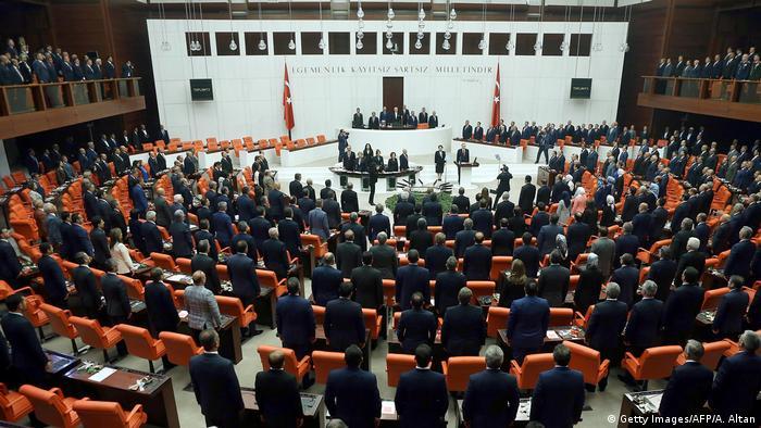 Türkei Parlamentseröffnung Präsident Recep Tayyip Erdogan