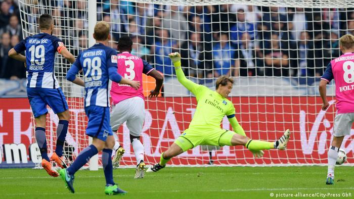 Bundesliga | Hertha BSC - Hamburger SV - Herthas Ibisevic trifft zum 1:0 (picture-alliance/City-Press GbR)
