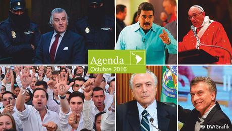 Bildcombo Agenda Spanish Octubre 2016 (DW/Grafik)
