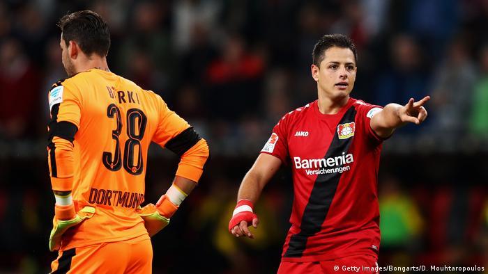 Fussball Bundesliga Bayer 04 Leverkusen vs Borussia Dortmund (Getty Images/Bongarts/D. Mouhtaropoulos)