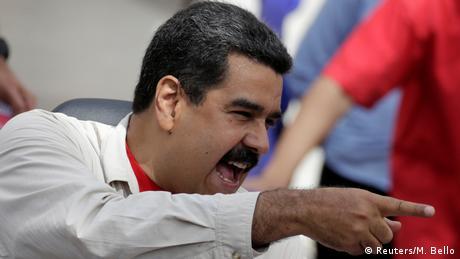 Venezuela Nicolas Maduro in Caracas (Reuters/M. Bello)