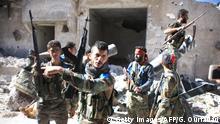 Syrien Armee Regierungstruppen