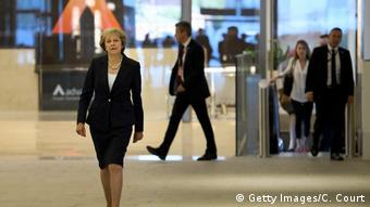 England Premierminsterin Theresa May (Getty Images/C. Court)