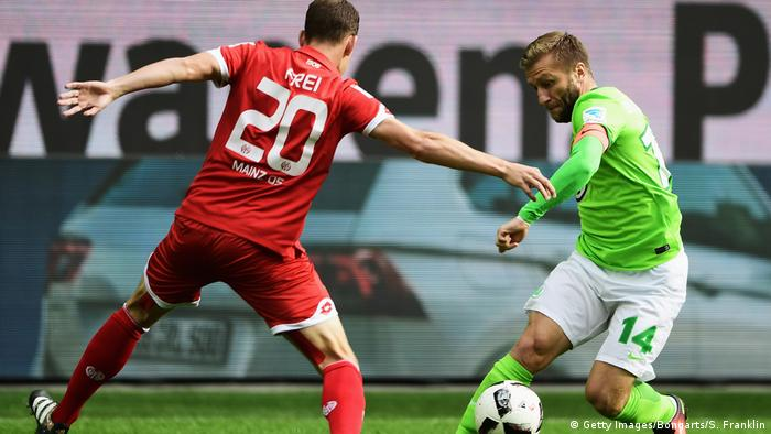 Fussball Bundesliga VfL Wolfsburg vs. 1. FSV Mainz 05 (Getty Images/Bongarts/S. Franklin)