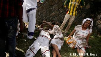 Äthiopien Anti-Regierungs-Protesten (REUTERS/T. Negeri)