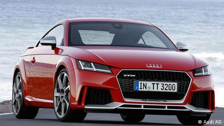 Audi TT RS Coupe 2017 (Audi AG)