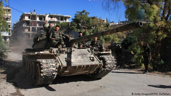 Syrien Regierungstruppen rücken weiter auf Aleppo vor