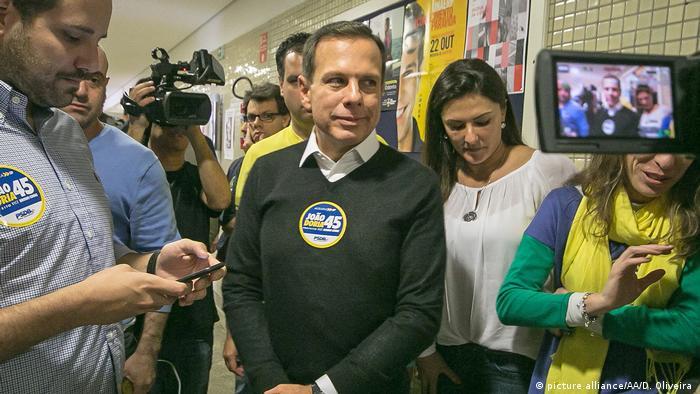 Brasilien der neue Bürgermeister von Sao Paulo Joao Doria (picture alliance/AA/D. Oliveira )