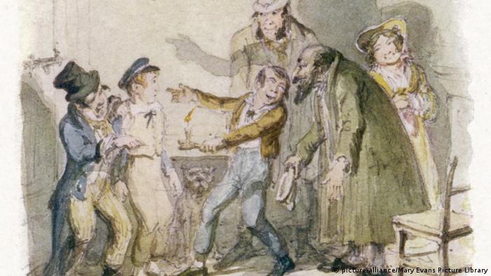 Sketch for Charles Dickens' Oliver Twist (picture-alliance/Mary Evans Picture Library)