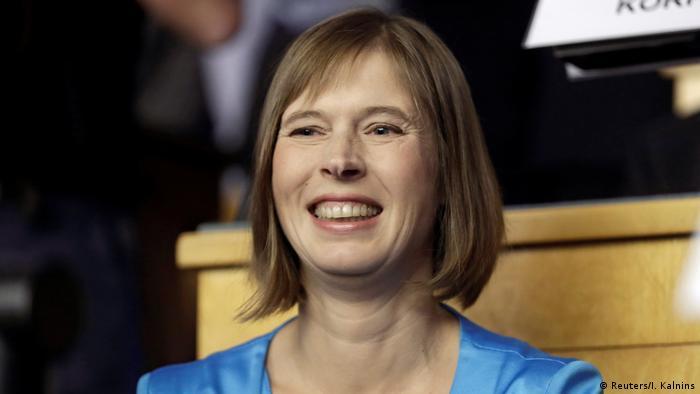 Estland neue Staatspräsidentin Kersti Kaljulaid