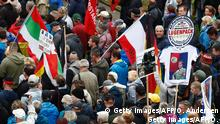 Deutschland Dresden Pegida Demonstration