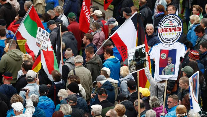 Deutschland Dresden Pegida Demonstration (Getty Images/AFP/O. Andersen Getty Images/AFP/O. Andersen)