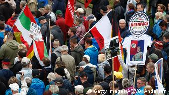 Pegida march