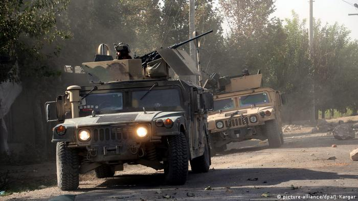 Afghanistan | Afghan forces retake control of Aachin district from the Taliban (picture-alliance/dpa/J. Kargar)