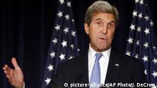 USA Russland Diplomatie John Kerry US Außenminister