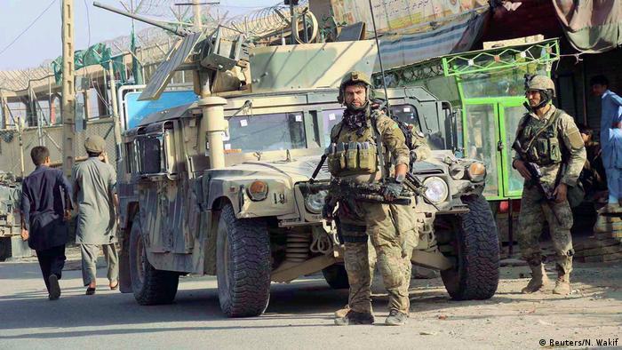 Afghanistan Kämpfe gegen Taliban in Kundus (Reuters/N. Wakif)