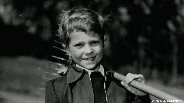 Crown Prince Carl Gustaf at the age of seven (Copyright: Imago/Zuma/Keystone)
