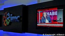 Türkei Studio des Senders IMC TV in Istanbul
