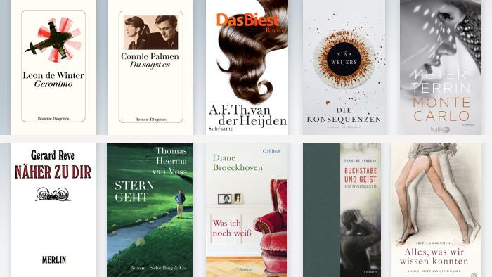Buchcover holländische Autoren