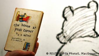 The first US edition of the 1928 sequel, The House at Pooh Corner (REUTERS/File Photo/L. MacGregor )